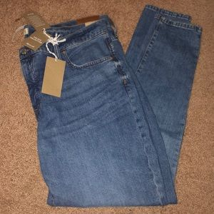 NWT Madewell Fair Trade Certified Jeans